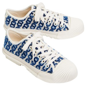 Tory Burch white/blue Athletic