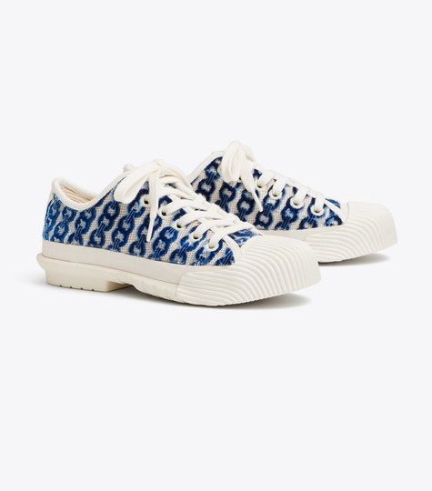 Tory Burch white/blue Athletic Image 1