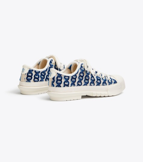 Tory Burch white/blue Athletic Image 2
