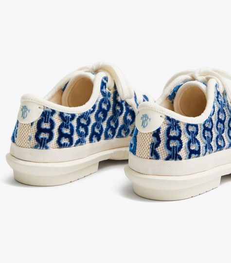 Tory Burch white/blue Athletic Image 3