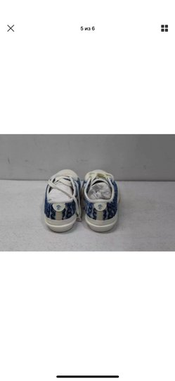 Tory Burch white/blue Athletic Image 4