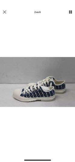 Tory Burch white/blue Athletic Image 6