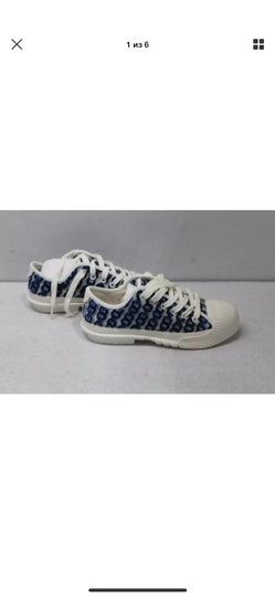 Tory Burch white/blue Athletic Image 8
