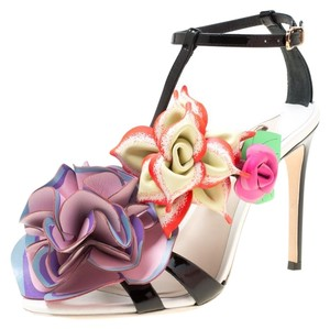 Sophia Webster Patent Leather Leather Multicolor Sandals