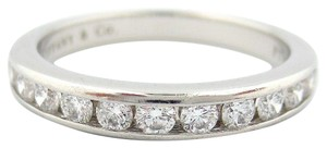 Tiffany & Co. .33ct Diamond 3mm Channel Shared Setting Eternity Wedding Band Ring