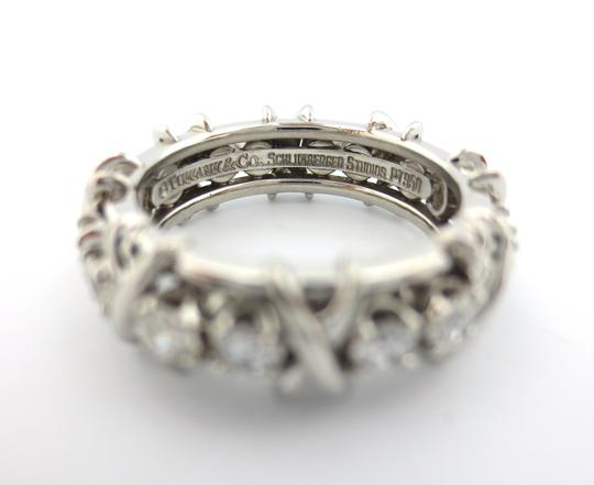 Tiffany & Co. Tiffany & Co Platinum Jean Schlumberger 16 Stone Diamond Ring 1.14CT Image 2