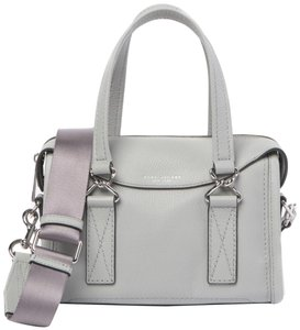 Marc Jacobs Mini Wellington Meghan Markle Kate Middleton Satchel in Light Gray