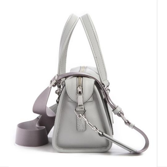 Marc Jacobs Mini Wellington Meghan Markle Kate Middleton Satchel in Light Gray Image 2