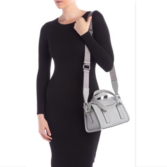 Marc Jacobs Mini Wellington Meghan Markle Kate Middleton Satchel in Light Gray Image 3