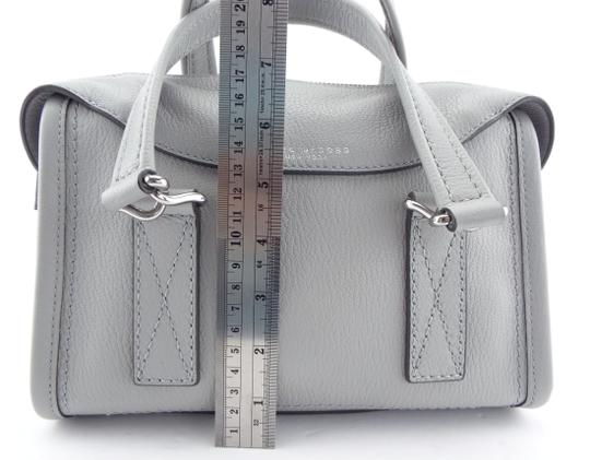 Marc Jacobs Mini Wellington Meghan Markle Kate Middleton Satchel in Light Gray Image 7