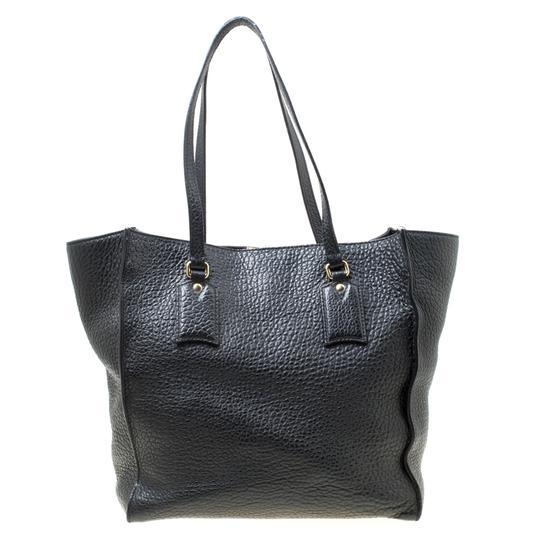 Burberry Leather Tote in Black Image 1