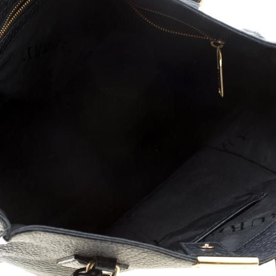 Burberry Leather Tote in Black Image 4