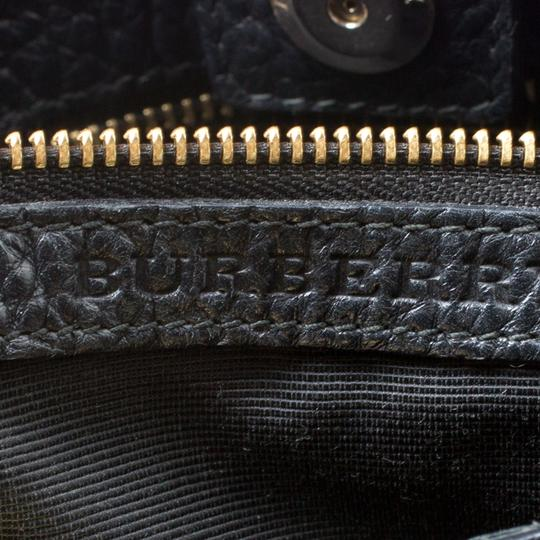 Burberry Leather Tote in Black Image 7