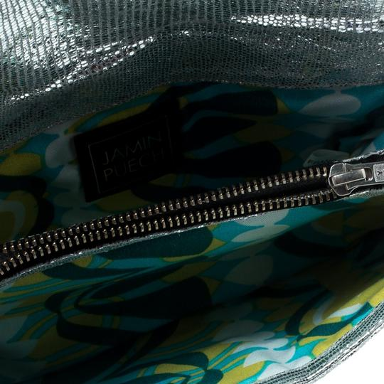 Jamin Puech Leather Silver Clutch Image 5