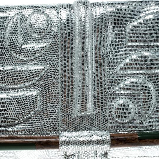 Jamin Puech Leather Silver Clutch Image 6