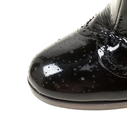 Miu Miu Patent Leather Ankle Black Boots Image 6