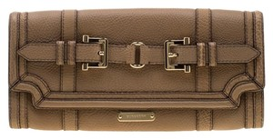 Burberry Leather Beige Clutch