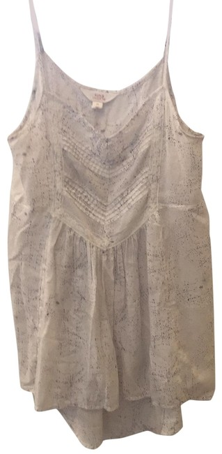 Item - Off White with Dark Speckles And Tank Top/Cami Size 8 (M)