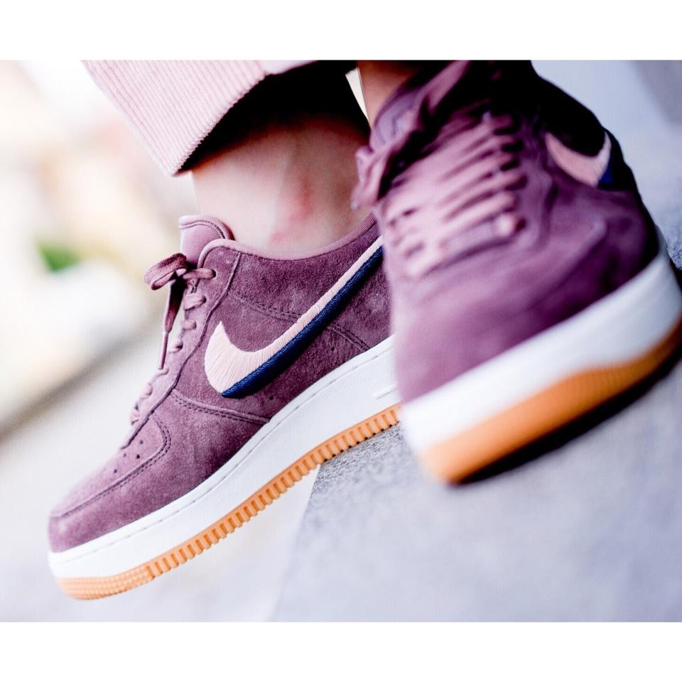 quite nice discount outlet boutique Nike Purple Women's Air Force 1 '07 Lx Smokey Mauve It Features Rich  Leather In A Variety Of Types and Textures The Sneakers Size US 10.5 Narrow  (Aa, ...