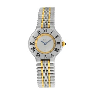 Cartier Ladies Cartier Must de Cartier 1340 Quartz Steel Gold 28MM Bullet