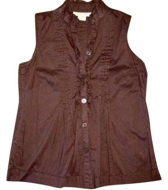 Item - Brown Coco Blouse Size 2 (XS)