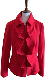 Tribal Deep Color Excellent Condition Fully Lined Sophisticated Style Red Jacket