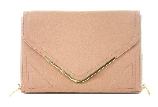 Item - Bcbgeneration Pink New with Tags Tan Vinyl Clutch
