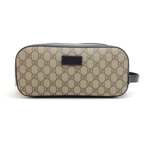 Gucci Canvas & Leather Dopp Kit
