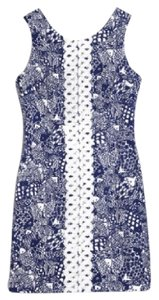 Lilly Pulitzer for Target short dress Blue and White on Tradesy