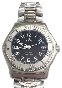Ebel CLASSY STYLISH Ebel Discovery Series Automatic Stainless Steel Wrist Watch with Stainless Steel Strap