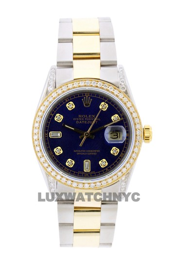 Preload https://img-static.tradesy.com/item/25552339/rolex-blue-dial-2ct-36mm-men-s-datejust-2-tone-with-appraisal-and-watch-0-0-540-540.jpg