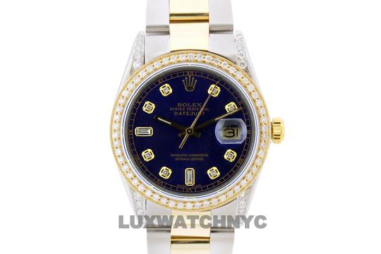 Rolex 2ct 36mm Men's Datejust 2-tone with Appraisal & Watch Image 1