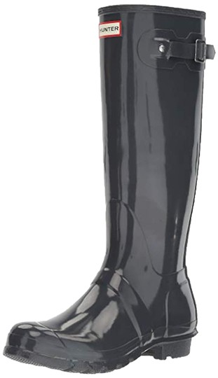 Hunter dark slate Boots Image 0
