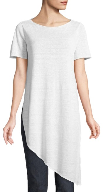 Preload https://img-static.tradesy.com/item/25552551/eileen-fisher-white-organic-linen-asymmetrical-tunic-size-2-xs-0-1-650-650.jpg