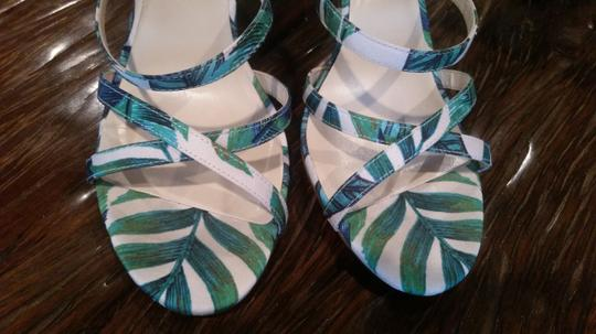 Nine West Green/Pink Sandals Image 8