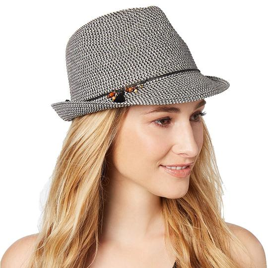 Nine West Nine West Cool Sense Yarn Packable Fedora, Grey Image 2