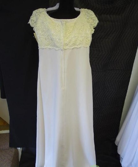 Alfred Angelo 8102 Traditional Wedding Dress Size 16 (XL, Plus 0x) Image 2