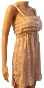 Anthropologie short dress beige on Tradesy