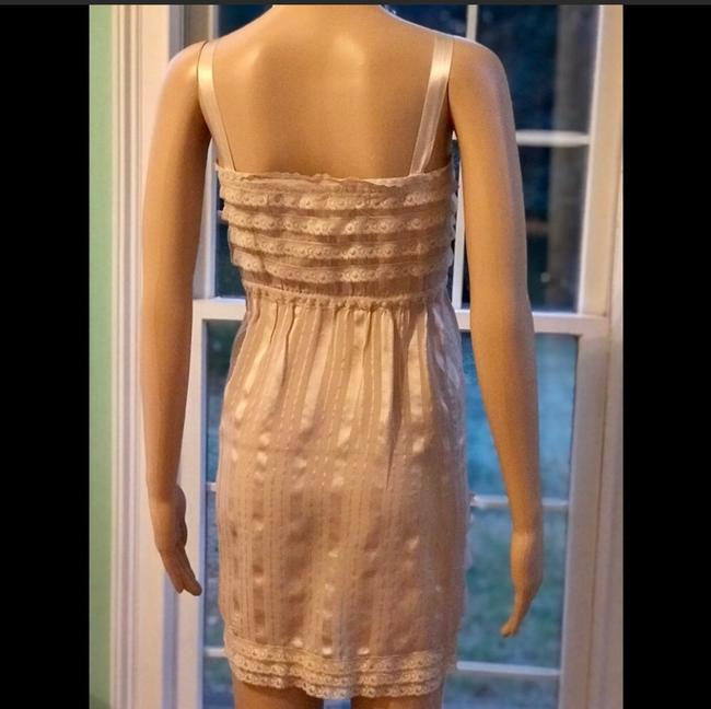 Anthropologie short dress beige on Tradesy Image 1