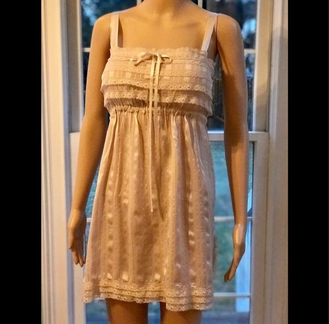 Anthropologie short dress beige on Tradesy Image 2
