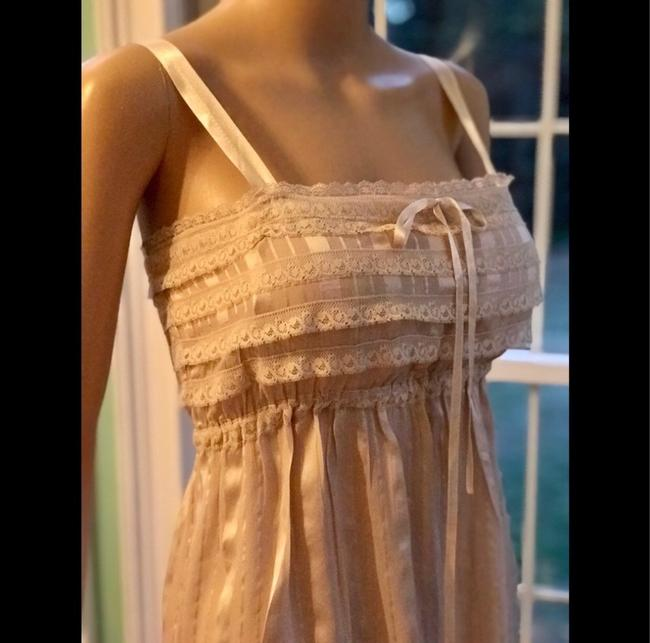 Anthropologie short dress beige on Tradesy Image 3