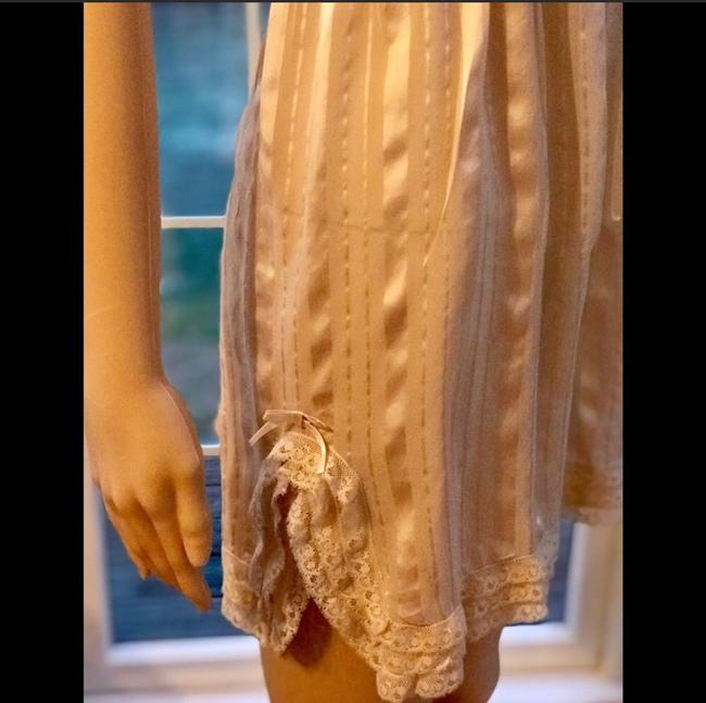 Anthropologie short dress beige on Tradesy Image 4