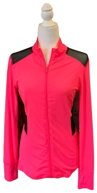 Preload https://img-static.tradesy.com/item/25552643/material-girl-neon-pink-with-black-netting-active-activewear-size-8-m-0-1-650-650.jpg