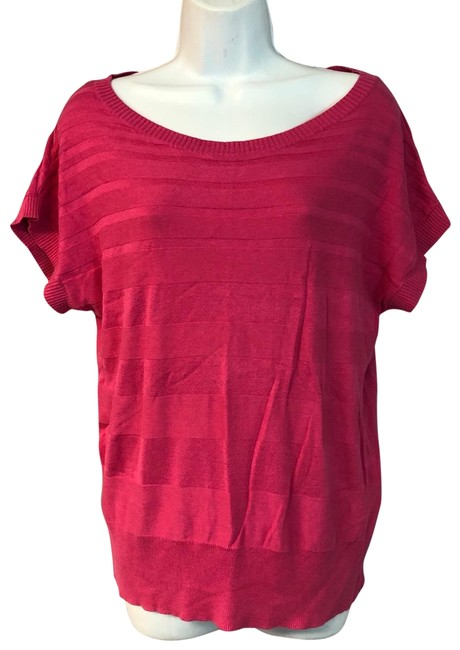 Preload https://img-static.tradesy.com/item/25552697/august-silk-fuchsia-cotton-blend-knit-m-blouse-size-8-m-0-1-650-650.jpg