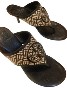 Tory Burch Black & White Sandals