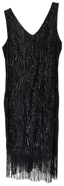 Preload https://img-static.tradesy.com/item/25552785/julia-jordan-black-all-over-sequin-with-beaded-fring-on-bottom-mid-length-cocktail-dress-size-12-l-0-1-650-650.jpg