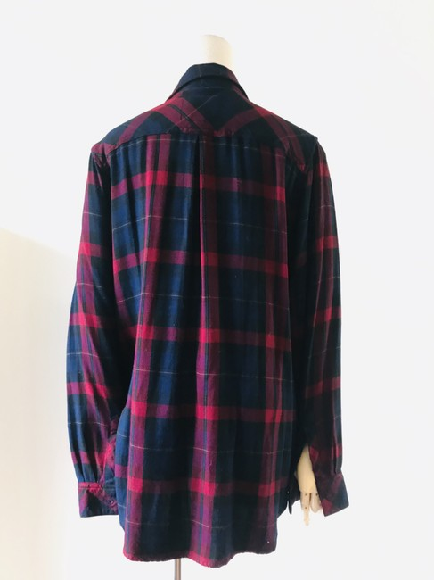 Rails Button Down Shirt navy red Image 6