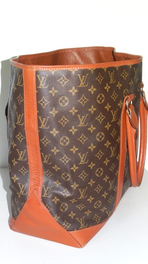 Louis Vuitton Gm Vintage Monogram Canvas French Co Brown Travel Bag Image 3