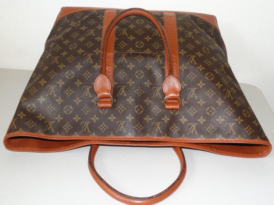 Louis Vuitton Gm Vintage Monogram Canvas French Co Brown Travel Bag Image 5