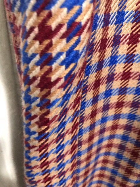 Tory Burch Trouser Pants Red and blue checkered Image 5